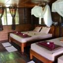 The cottages inside